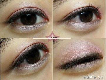 Sáp màu my mắt lovely ME:EX stick eyes The faceshop