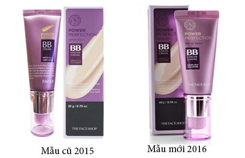 Kem trang diem The Face Shop Power Perfection BB Cream (20ml)