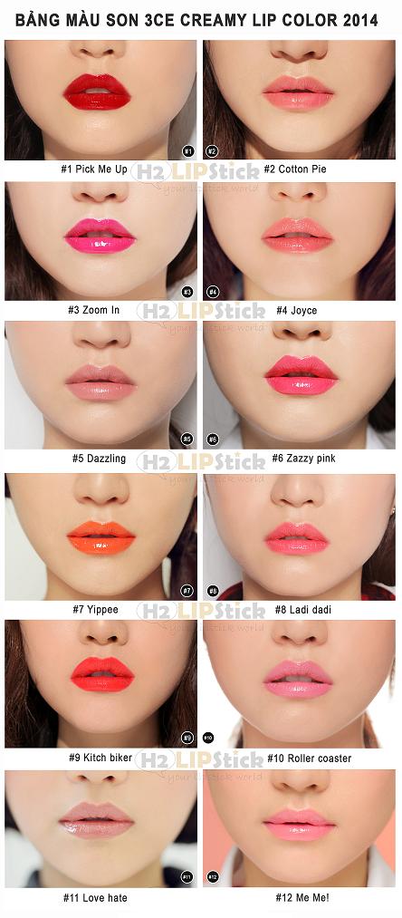 son 3ce – 3 concept eyes – creamy lip color