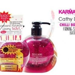 Gel tắm giảm eo Cathy Doll Chilly Bomb Firming Sauna Bath Gel