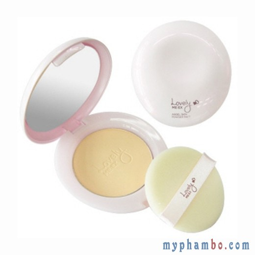 Phấn phủ nén Lovely ME EX Angel Skin Powder Pact The Face Shop