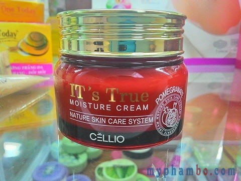 Kem dưỡng Cellio It's True Moisture Cream