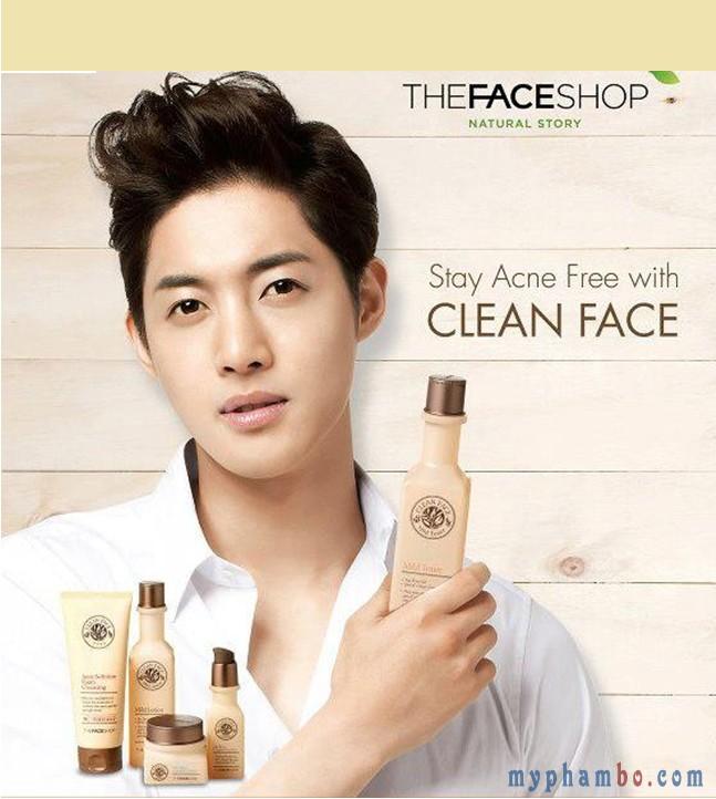 Nước hoa hồng da dầu Clean Face Mild TonerNước hoa hồng da dầu Clean Face Mild Toner