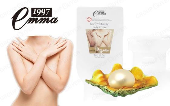 Kem ngọc trai trang điểm trắng da toàn thân Emma Pearl Whitening Body Cream