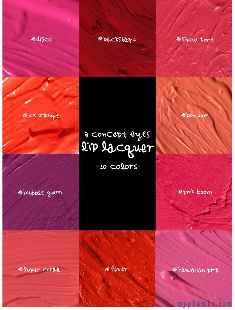Son kem Lip Lacquer của 3CE