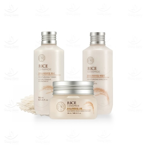 Nuoc hoa hong gao Rice ceramide moisture toner – The face shop (2)