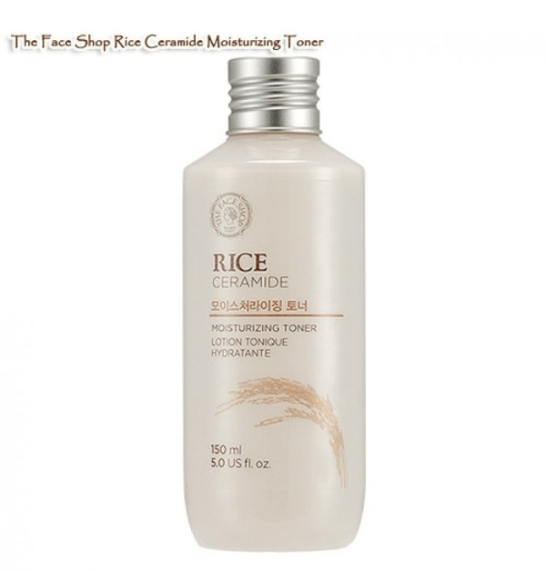Nuoc hoa hong gao Rice ceramide moisture toner – The face shop (4)