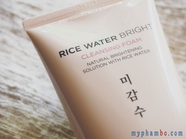 Sữa rửa mặt gạo Rice water bright – The Face Shop