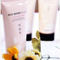 Sữa rửa mặt gạo Rice water bright – The Face Shop