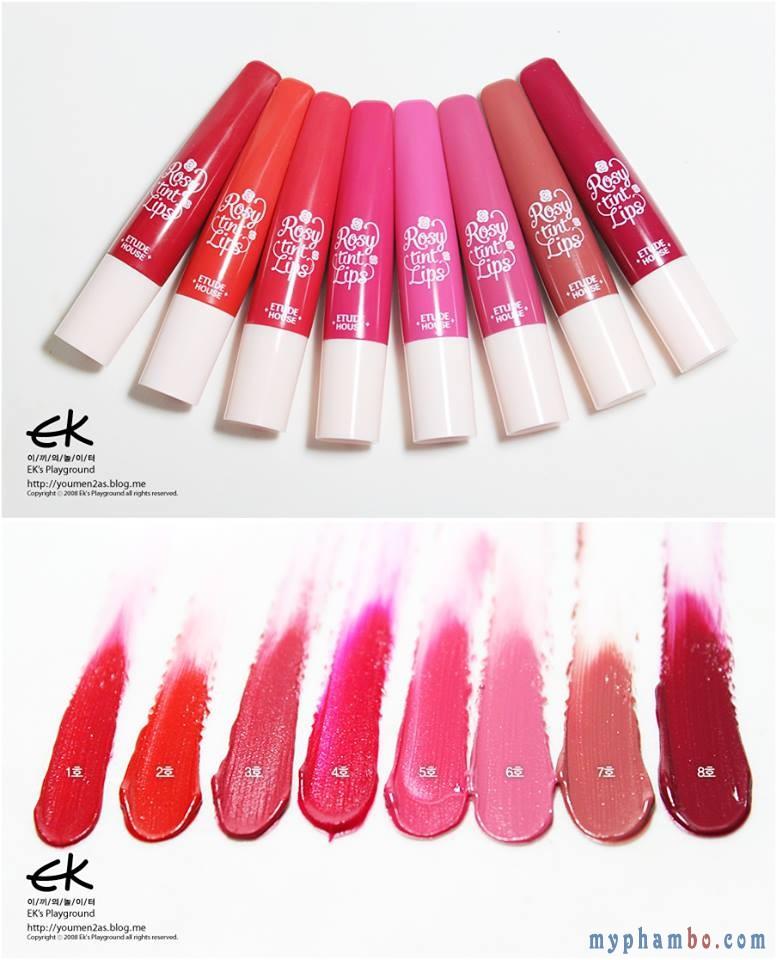 Son Rosy tint lips Etude House