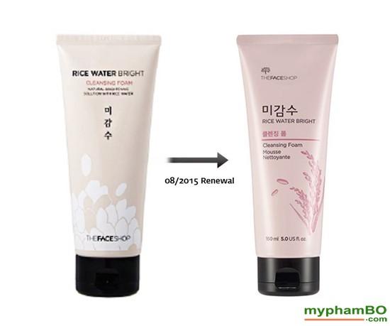 Sa ra mt go Rice water bright – The Face Shop (3)