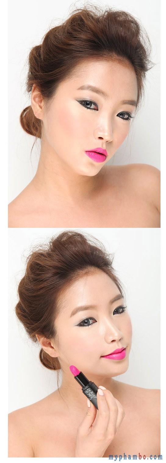 3 Concept Eyes Lip Color #308 Pink Jam