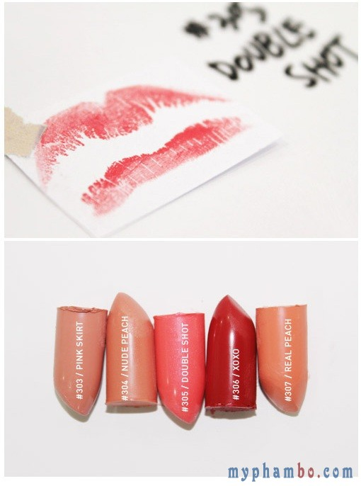 Son thỏi 3CE Lip Color Matte 2014