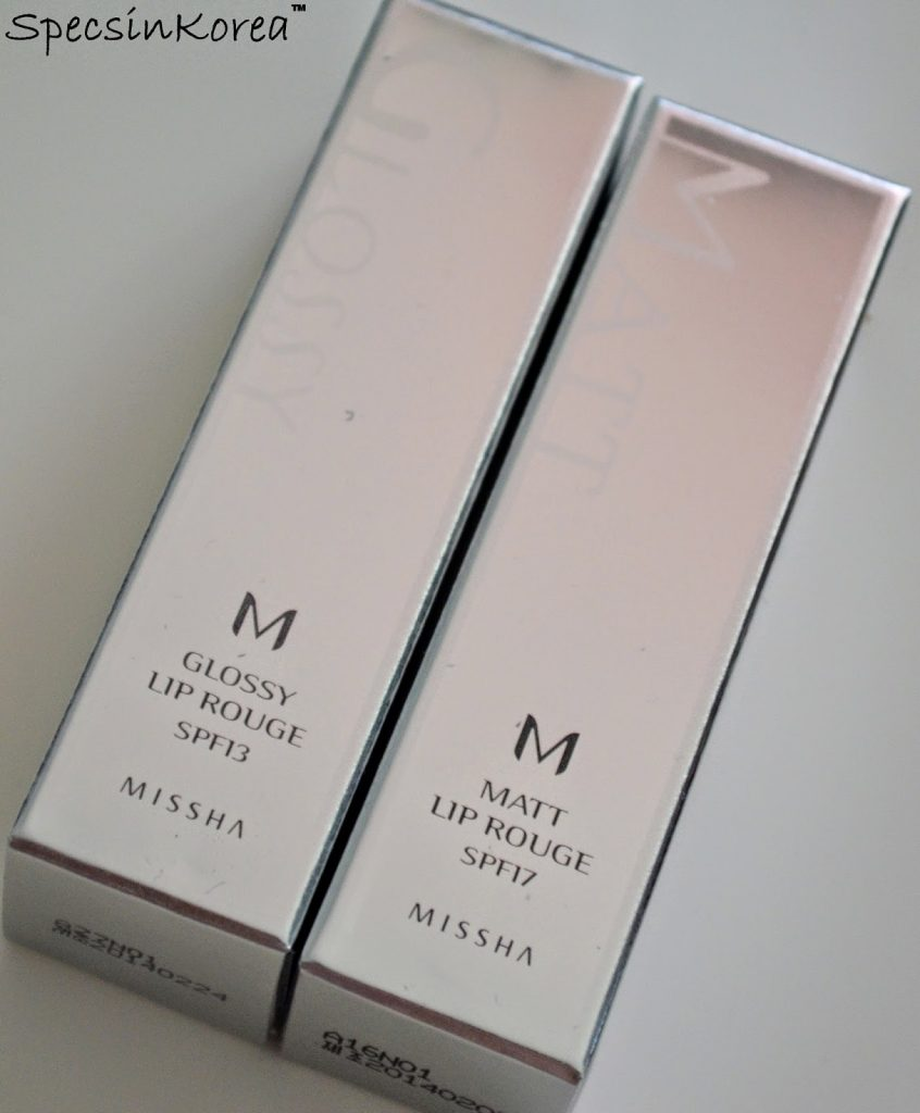 Son Missha M Glossy Lip Rouge SPF13