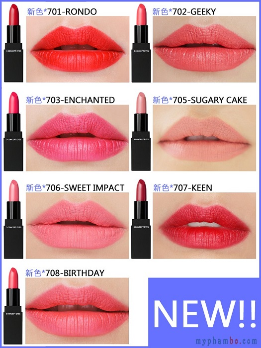 Son thoi 3CE Lip Color Matte 2015