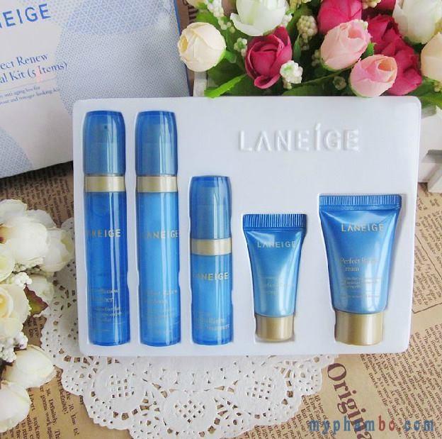 Set dưỡng mini chống lão hoá Laneige Perfect Renew Trial Kit