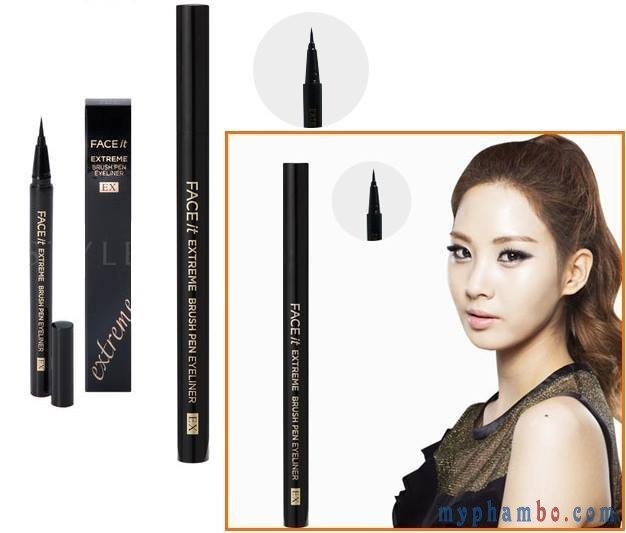 kẻ mắt Face It Extreme Brush Pen Eyeliner