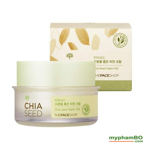 Kem duong am danh cho da - Chia Seed Sebum Control Moisture Cream (5)