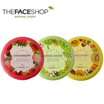 Kem duong da Hand & Body Shiffon Cream TheFaceShop