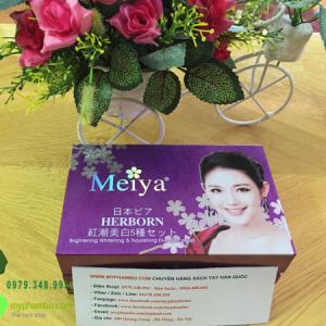 My pham tri nam tan nhang duong trang da Meiya 2in1 (2)