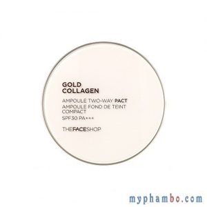 Phan Gold Collagen Ampoule Two-way Pact The Face Shop