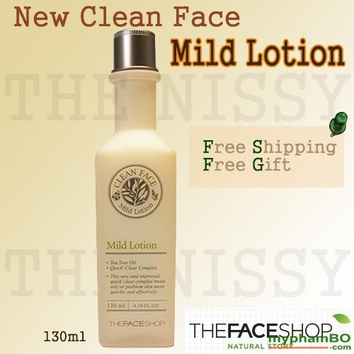 Sa dung dành cho da du và mn Clean Face Mild (2)