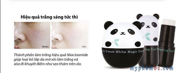 Sap duong mat tri quang tham Panda's Dream So Cool Eye Stick Tonymoly