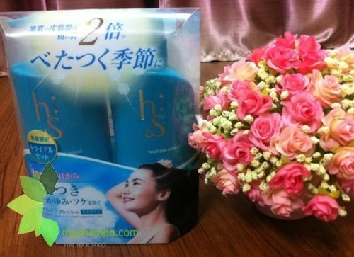 Cap dau goi xa tri gau HS - head spa moisture Nhat ban (5)