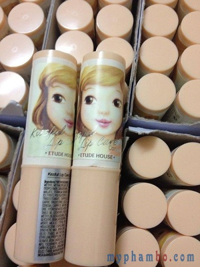 Che khuyet diem moi Kissful lip care concealer (2)