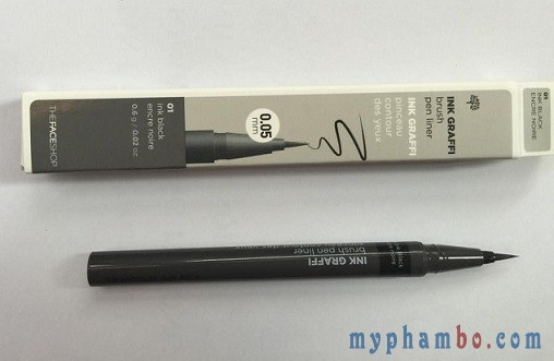 Da ke mat Ink Graffi Brush Pen Liner The Face Shop (15)