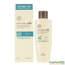 Kem chng nng toàn thon the face shop Natural Sun body & family mild UPF40 (2)
