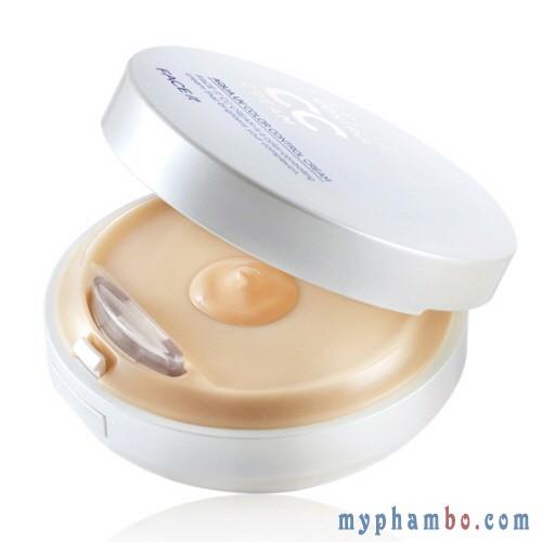 Kem nen kiem dau CC Cream the face shop - Aqua Uv Color Control Cream (1)