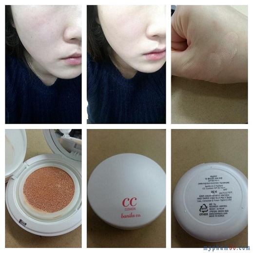Phan nuoc Banila Co it Radiant CC Cushion SPF 35 PA (12)