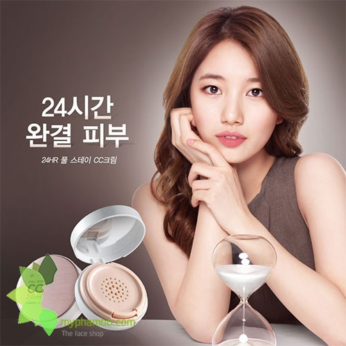 Phan nuoc CC Cream Full Stay 24HR The Face Shop SPF50+ PA (2)