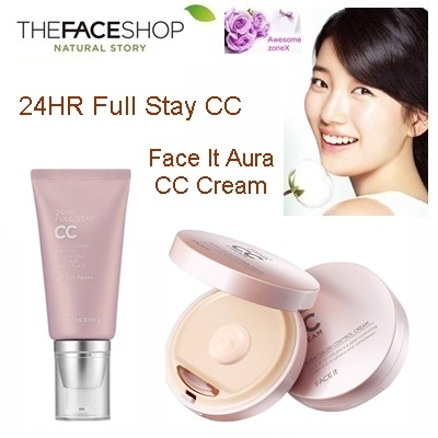 Phan nuoc CC Cream Full Stay 24HR The Face Shop SPF50+ PA+++ (2)