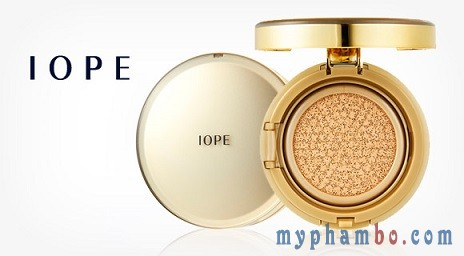 Phan nuoc IOPE Air Cushion RX Sunblock SPF 50+PA++ Gold ( vang ) - Han quoc (3)