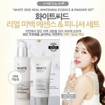 bo set tinh chat va kem duong White Seed Real Whitening Essence & Cream Set (3)