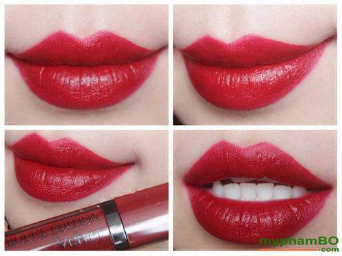 15, Son Bourjois Rouge Edition Velvet Velvet Red Volution