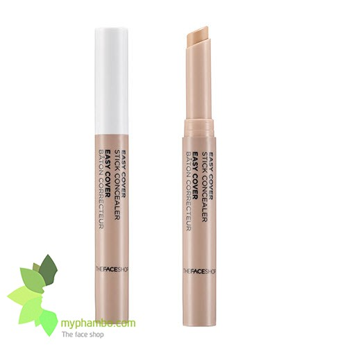 Che khuyet diem Easy Cover Stick Concealer The Face Shop (4)