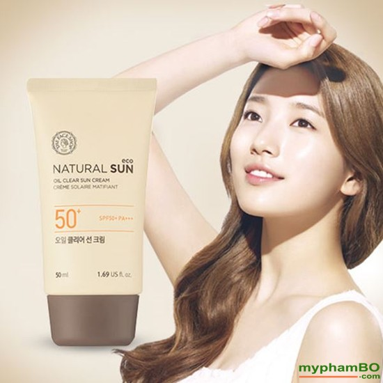 Kem Chng Nng The Face Shop Natural Sun Eco SUPER PERFECT Sun Cream SPF50 PA (1)(1)