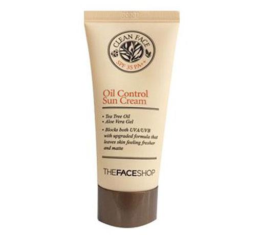 Kem chống nắng trị mụn oil coKem chống nắng trị mụn oil control TheFaceShop (3)ntrol TheFaceShop (3)