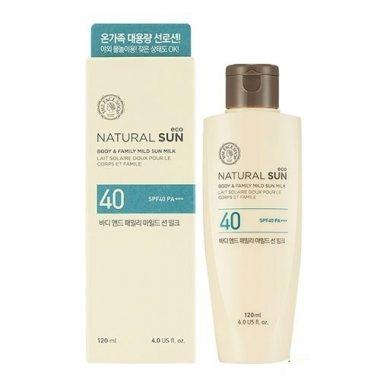 Kem-chng-nng-toàn-thon-the-face-shop-Natural-Sun-body-family-mild-UPF40-2