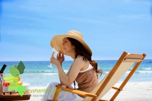 Kem chong nang Oil Free Sun Cream The Face Shop (1)