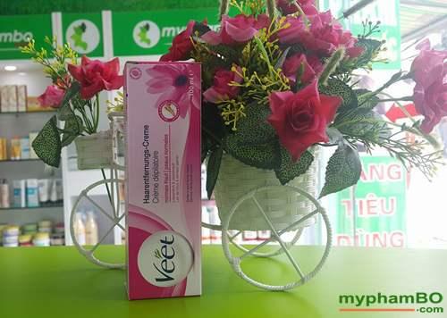 Kem tay long VEET cua phap 100ml – Cream Depilatoire (2)
