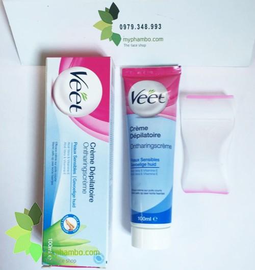 Kem tay long VEET cua phap 100ml - Cream Depilatoire (1)