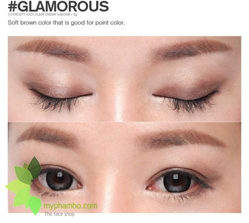 Phan mat dang nen Glam Cream Shadow Glamorous (7)