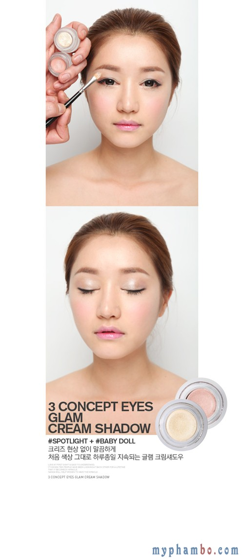 Phan mat dang nen Glam Cream Shadow Spotlight (1)
