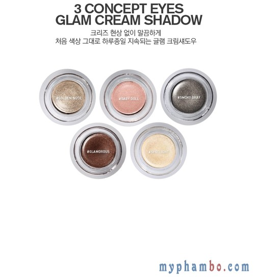 Phan mat dang nen Glam Cream Shadow Spotlight (4)