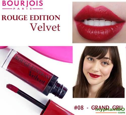 Son Li Dang Nuoc Bourjois Rouge Edition Velvet mau 8