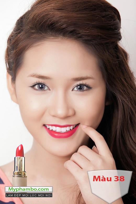 Son moi FIRIN professional cua nga easily smearing quality lipstick (3)